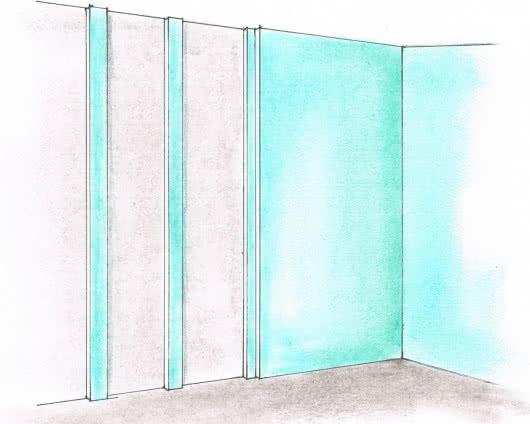 Выравнивание-стен-гипсокартоном-3-шаг