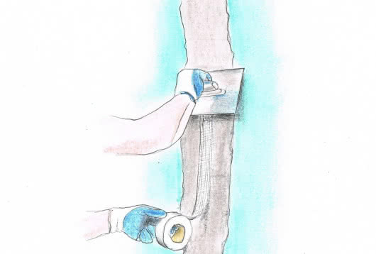 Выравнивание-стен-гипсокартоном-8-шаг