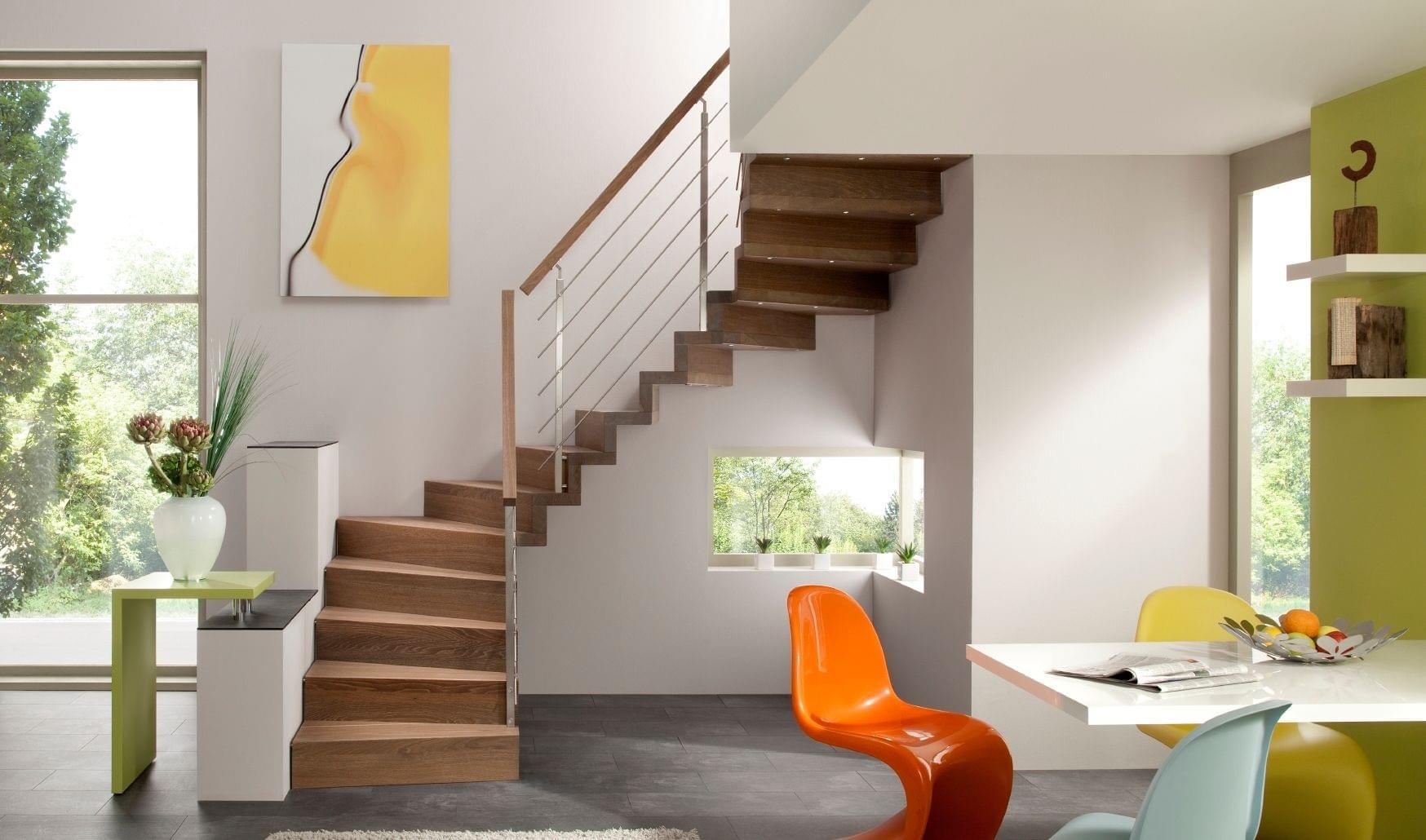 Комфортная лестница на второй этаж