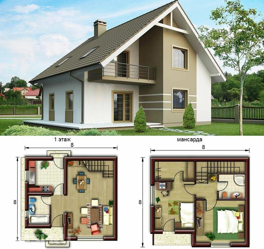 Проект загороднего дома