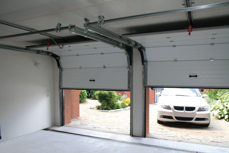 Автоматические ворота для гаража или ограждения участка