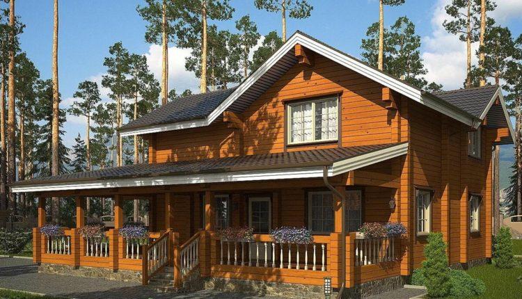 Приемущество деревянного загороднего дома