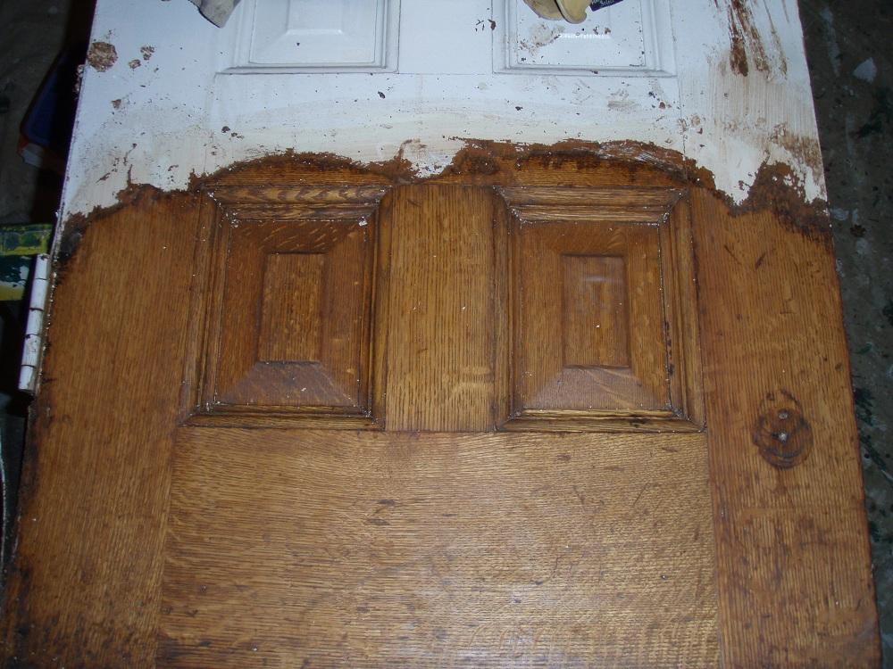 Реставрация старой двери