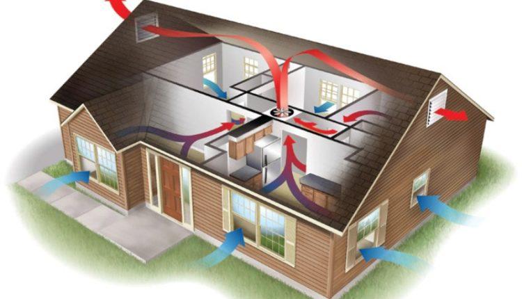 Вентиляция в доме как правильно сделать